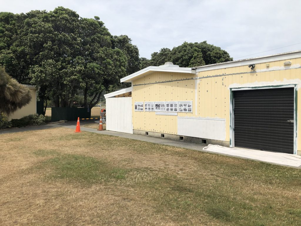 Eastbourne Sports and Services Club - exterior paintint